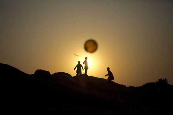 Afgańskie dzieci w Pakistanie - Sputnik Polska