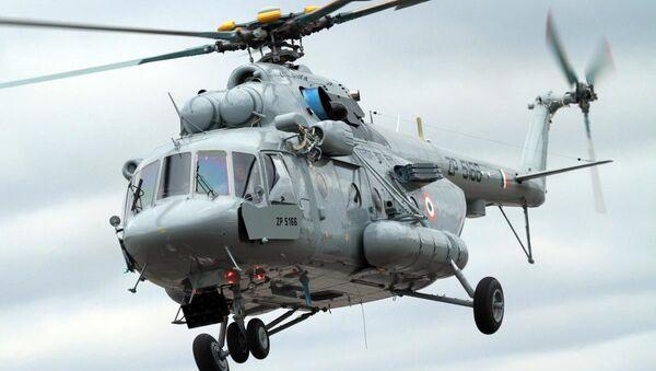 Śmigłowiec Mi-17В-5 - Sputnik Polska