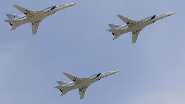 Samolot bombowy średniego zasięgu Tu-22M3 - Sputnik Polska
