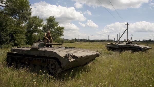Wycofywanie sprzętu powstańców - Sputnik Polska