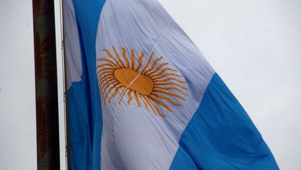 Flaga Argentyny - Sputnik Polska
