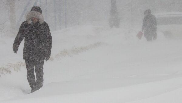 Cyklon na Sachalinie - Sputnik Polska