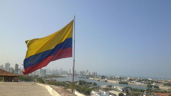Kolumbijska flaga - Sputnik Polska