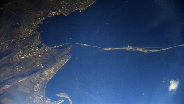 Фотография Крымского моста из космоса - Sputnik Polska