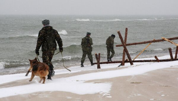 Patrol na granicy Rosji i Litwy - Sputnik Polska