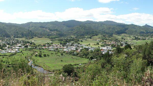 Widok na nowozelandzkie miasto Coromandel - Sputnik Polska