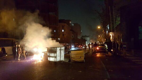 Protesty w Iranie - Sputnik Polska
