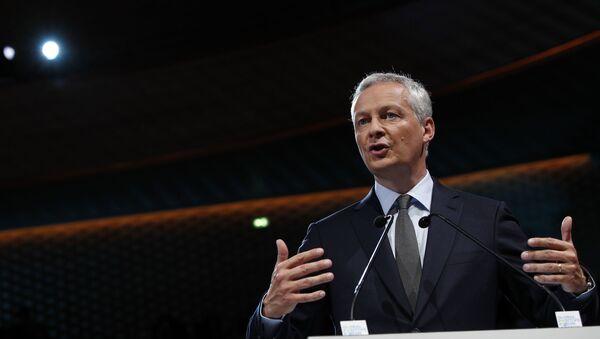 Minister gospodarki i finansów Francji Bruno Le Maire - Sputnik Polska