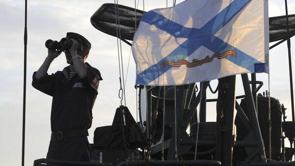 Ćwiczenia batalionu piechoty morskiej Flotylli Kaspijskiej. Zdjęcie archiwalne - Sputnik Polska