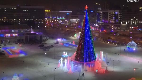 W Permie odkryto największe miasteczko lodowe w Rosji - Sputnik Polska
