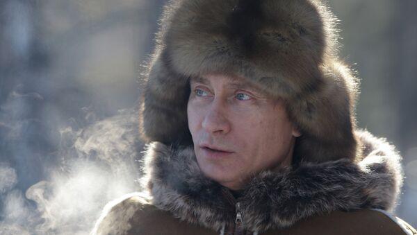 Władimir Putin zimą - Sputnik Polska