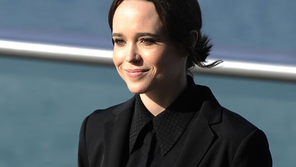 Kanadyjska aktorka Ellen Page - Sputnik Polska