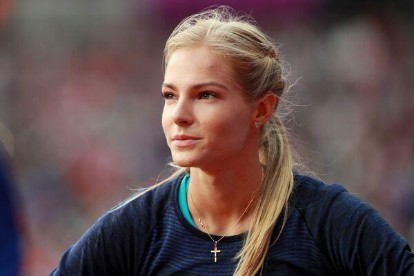 Darja Kliszyna, rosyjska lekkoatletka specjalizująca się w skoku w dal - Sputnik Polska