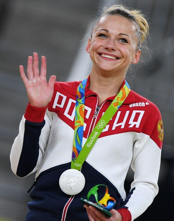 Marija Pasieka, rosyjska gimnastyczka - Sputnik Polska