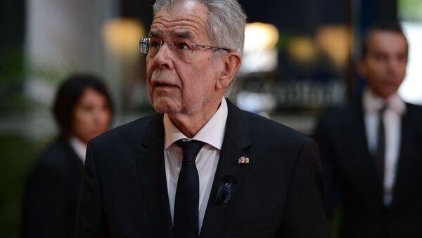 Prezydent Austrii Alexander Van der Bellen - Sputnik Polska
