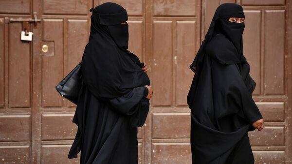 Kobiety na jednej z ulicy Dżuddy w Arabii Saudyjskiej - Sputnik Polska