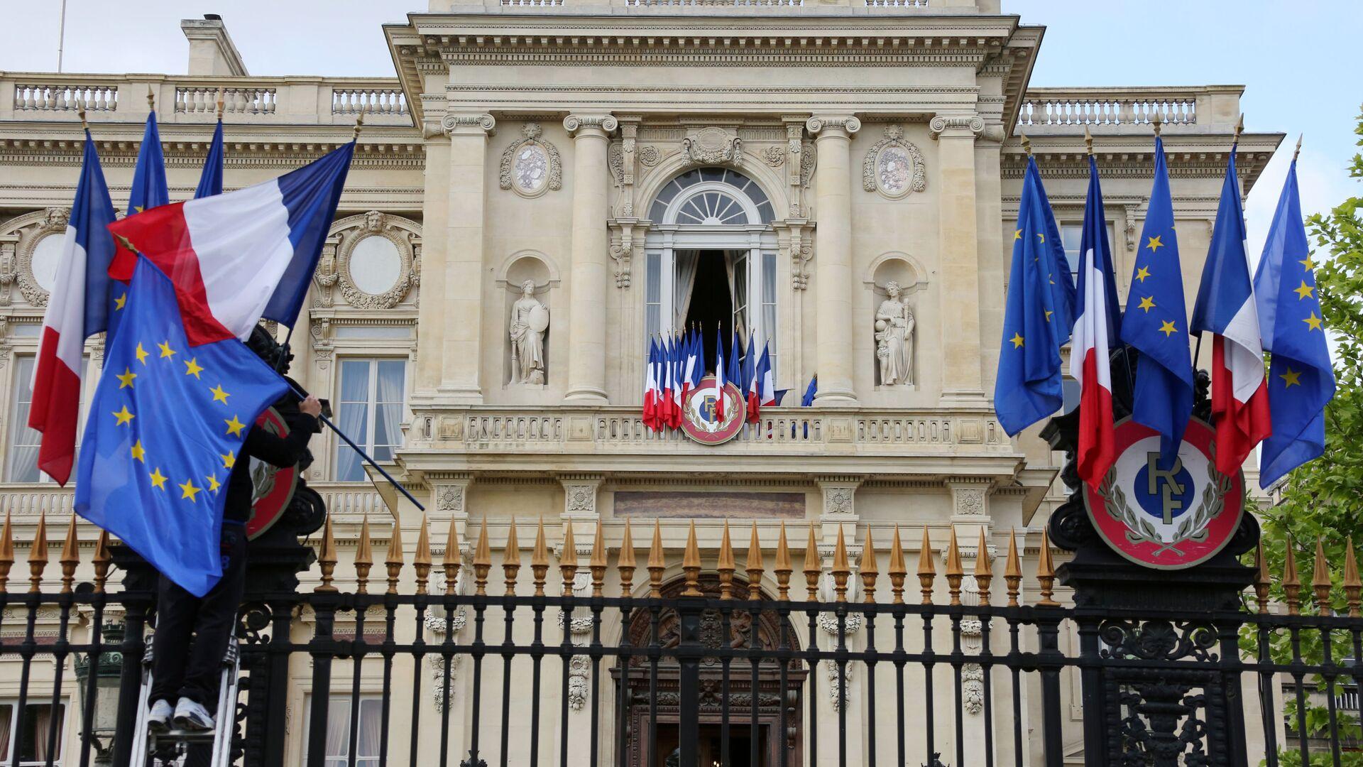 Budynek MSZ Francji w Paryżu  - Sputnik Polska, 1920, 19.09.2021