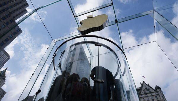 Sklep firmowy Apple w Nowym Jorku - Sputnik Polska