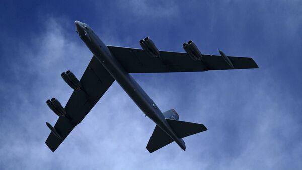 Bombowiec strategiczny Sił Powietrznych USA B-52H - Sputnik Polska
