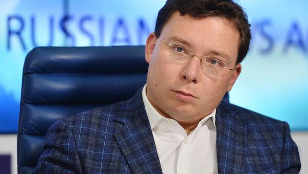 Oleg Bondarenko, dyrektor Agencji Komunikacji Strategicznych, 2015 rok - Sputnik Polska