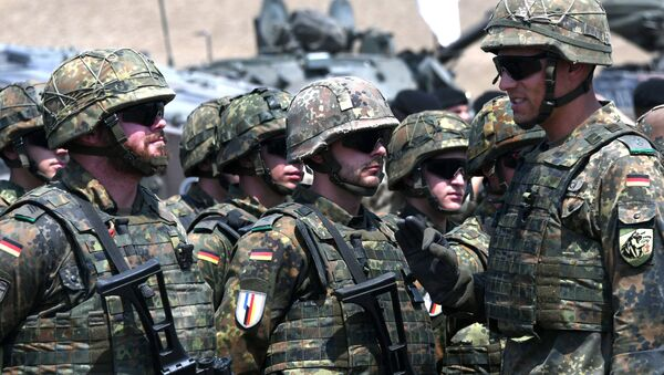 Wojskowi Bundeswehry - Sputnik Polska