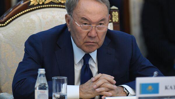 Prezydent Kazachstanu Nursułtan Nazarbajew - Sputnik Polska