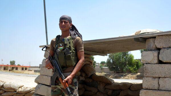 Kurdowie, walczący z ISIS - Sputnik Polska