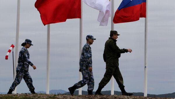 Rosyjsko-chińskie ćwiczenia Morskie współdziałania 2015 we Władywostoku - Sputnik Polska