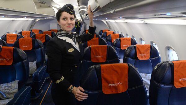 Stewardesa linii lotniczej Aerofłot - Sputnik Polska