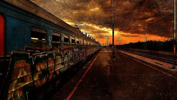 Pociąg w czasie końca świata - Sputnik Polska