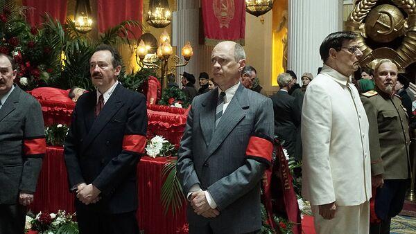 Kadr z filmu Śmierć Stalina - Sputnik Polska