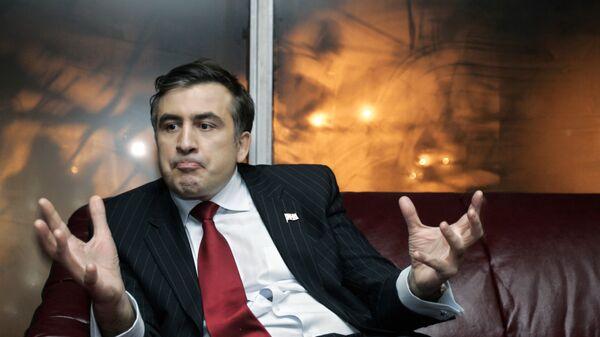 Gruziński polityk Michaił Saakaszwili - Sputnik Polska