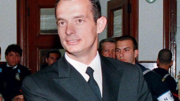 Oficer greckiej marynarki wojennej Marinos Ricudis - Sputnik Polska
