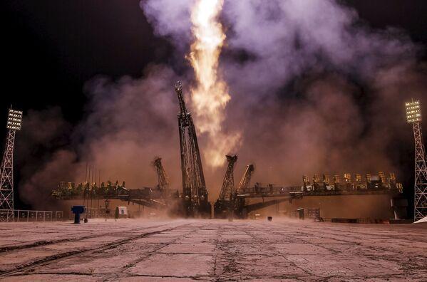 Start statku kosmicznego Sojuz - Sputnik Polska