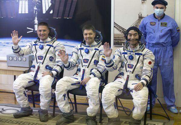 Załoga rakiety Sojuz - Sputnik Polska