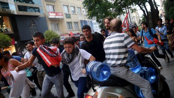 Protesty w Turcji - Sputnik Polska