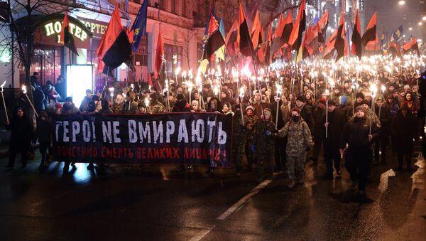 Marsz na cześć UPA, Kijów - Sputnik Polska