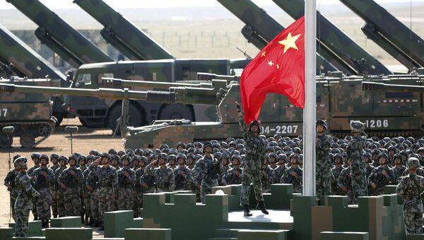 Defilada chińskiej armii - Sputnik Polska