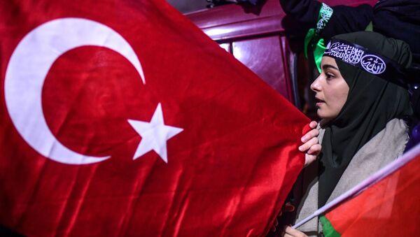 Protesty w Stambule - Sputnik Polska