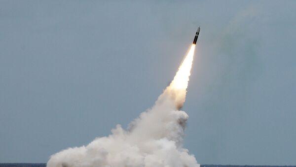Start rakiety balistycznej Trident II D5 - Sputnik Polska