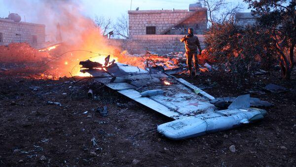Dżabhat an-Nusra przyznała się do zestrzelenia rosyjskiego Su-25 w Syrii - Sputnik Polska
