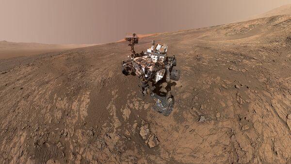 Curiosity na Marsie - Sputnik Polska