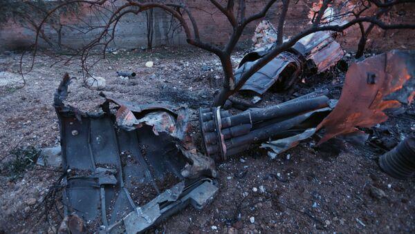 Zestrzelony Su-25 - Sputnik Polska