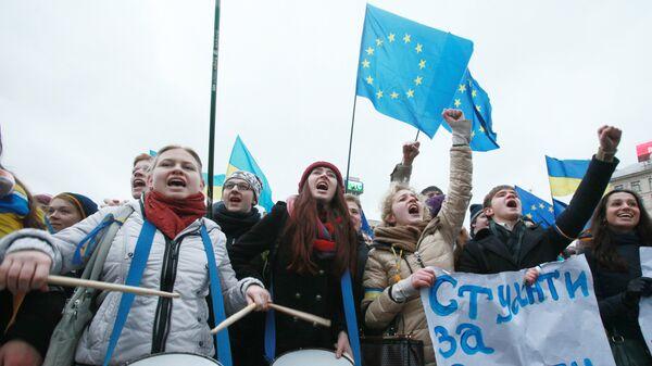 Zwolennicy eurointegracji - Sputnik Polska