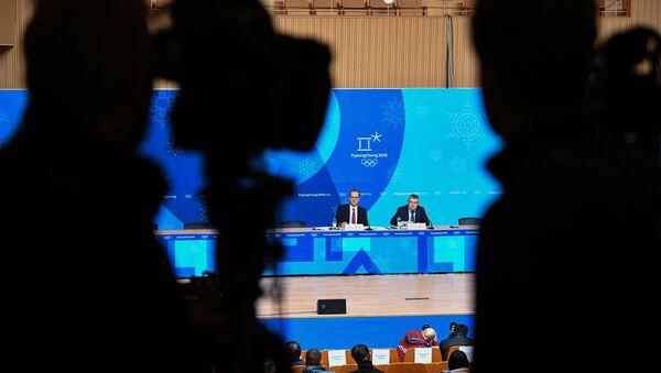 Konferencja prasowa przed Olimpiadą w Pjongczang - Sputnik Polska