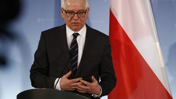 Szef polskiej dyplomacji Jacek Czaputowicz - Sputnik Polska