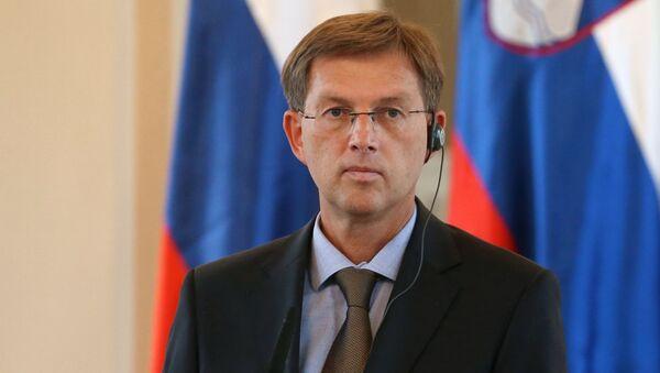 Szef słoweńskiego rządu Miroslav Cerar - Sputnik Polska