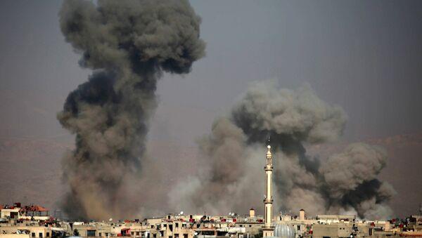 Konsekwencje nalotów w Syrii - Sputnik Polska