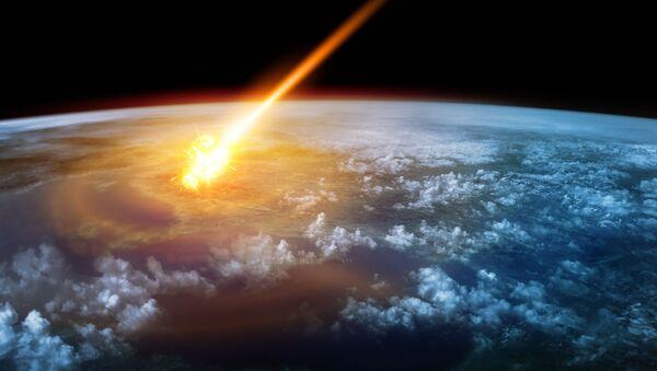 Meteoryt w pobliżu Ziemi - Sputnik Polska
