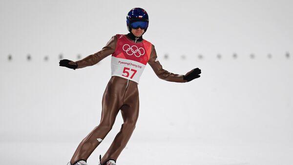 Kamil Stoch na Zimowych Igrzyskach Olimpijskich-2018 w Pjongczangu - Sputnik Polska